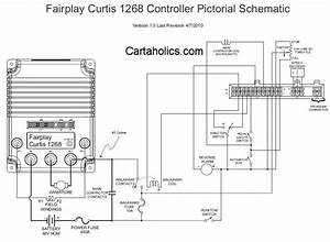 Kinetek Kcca0004 To Curtis 1266 Conversion Full Wiring Diagram