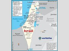 Map of Palestine Palestinian Maps and Information, Gaza
