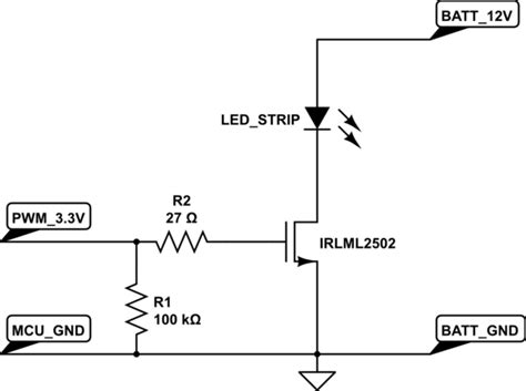 Mosfet Switch With Constant Current Source Askelectronics