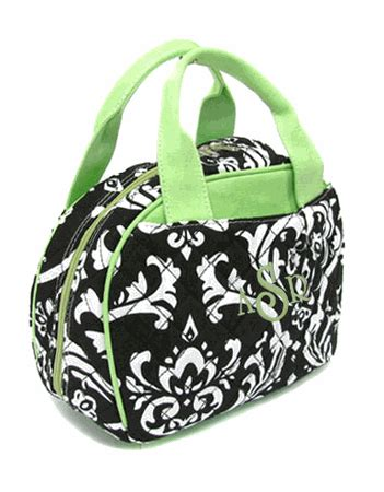 quilted lunch bag quilted lunch bag damask pattern