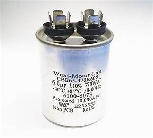 Motor Start Capacitors And Motor Run Capacitors