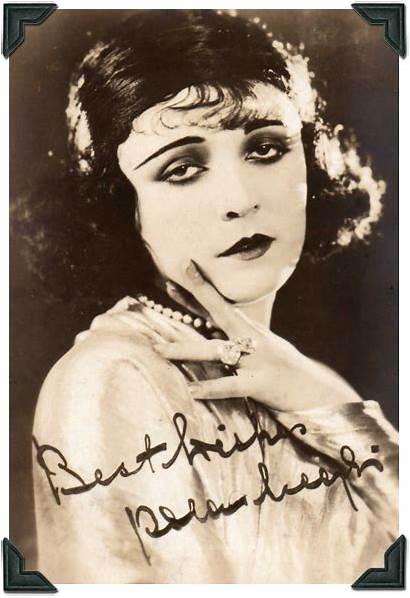Makeup 1920s Negri Pola Looks Actress