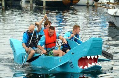 Cardboard Boat Race Fails by Watkins Glen Cardboard Race Regatta Cardboard Boats