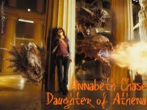 Percy Jackson and Annabeth Chase Mark of Athena