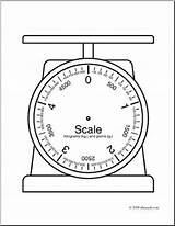 Scale Scales Blank Kilogram Coloring Clip Weights Reading Measures Math Google Mass Sheet Weight Weighing Template Mesurement Capacity Primary Ks2 sketch template