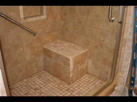 handicap bathroom shower youtube