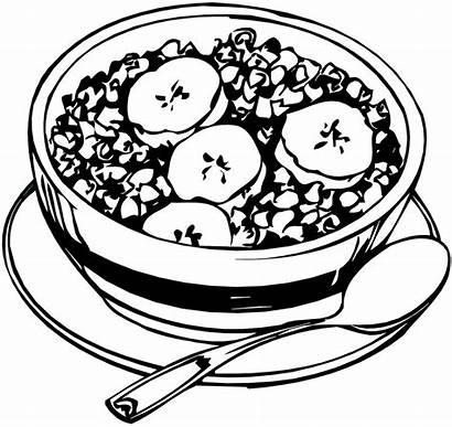 Granola Cereal Drawing Bowl Honey Healthy Sugar