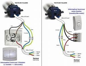 Branchement Volet Roulant électrique : schema cablage volet roulant at44 jornalagora ~ Melissatoandfro.com Idées de Décoration
