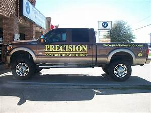 vehicle graphics your sign partner in dallas fort worth With company truck lettering