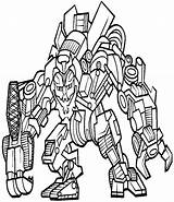 Coloring Boys Pages Years Print Megatron sketch template