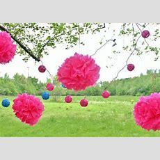 Fantastische Deko Ideen Für Eine Gartenparty