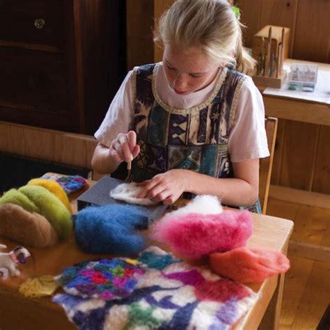 dry needle felting starter kit nova natural toys crafts