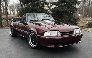 Supercharged 1990 Ford Mustang GT Convertible for sale on BaT Auctions - closed on April 8, 2019 ...