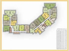 Floor plans of Two bedroom apartment in Sand Lilies complex