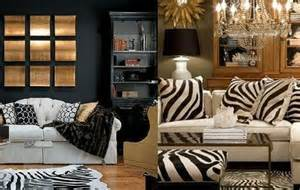 zebra decorating search living rooms and dens