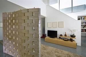 Cloison De Séparation Amovible : separation de cloison maison travaux ~ Dailycaller-alerts.com Idées de Décoration