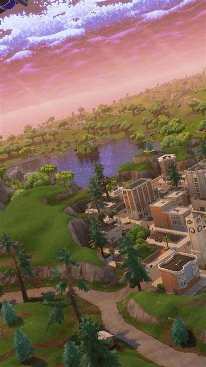 Tilted Towers Fortnite Wallpapers Battle Background Cave