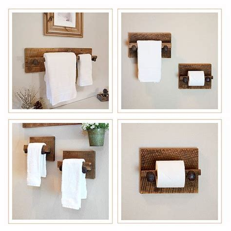 Gäste Wc Handtücher by Murphy 4 Towel Rack Set Large Reclaimed Towel