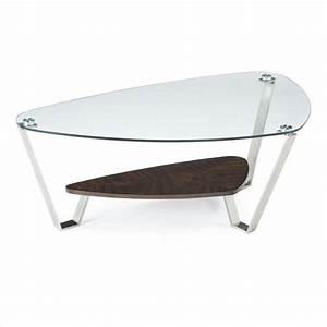 Magnussen pollock cocktail table in brushed nickel and for Brushed nickel coffee table
