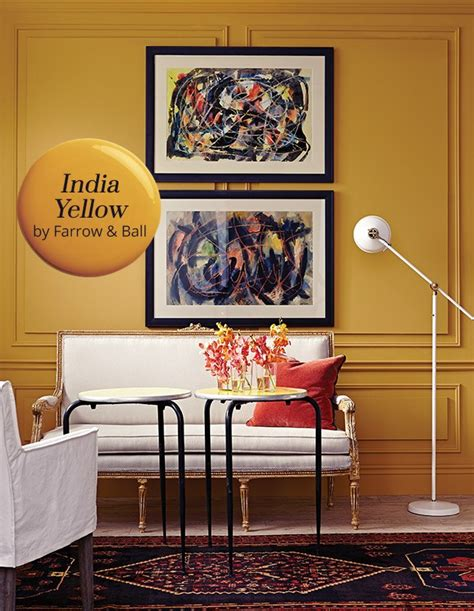 paint color india yellow by farrow