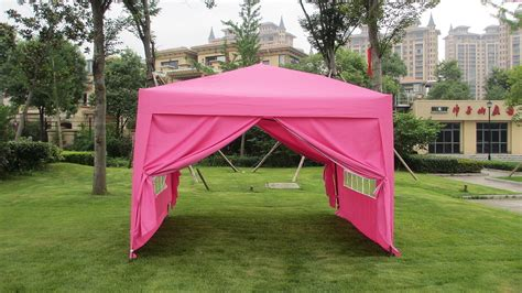 mcombo ez pop walls canopy party tent gazebo sides pink ebay