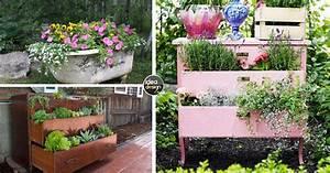 Arredo giardino: riutilizzare i vecchi mobili e decorare un giardino 15 idee!