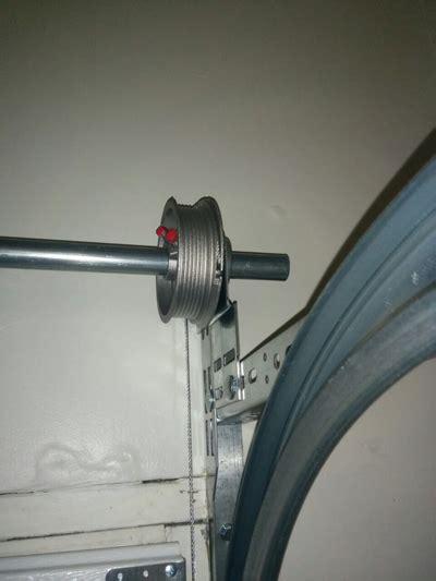 garage door cable on one side cable tracks garage door repair seattle wa