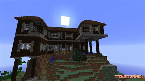 spruce mountain manor map   minecraft minecraftnet