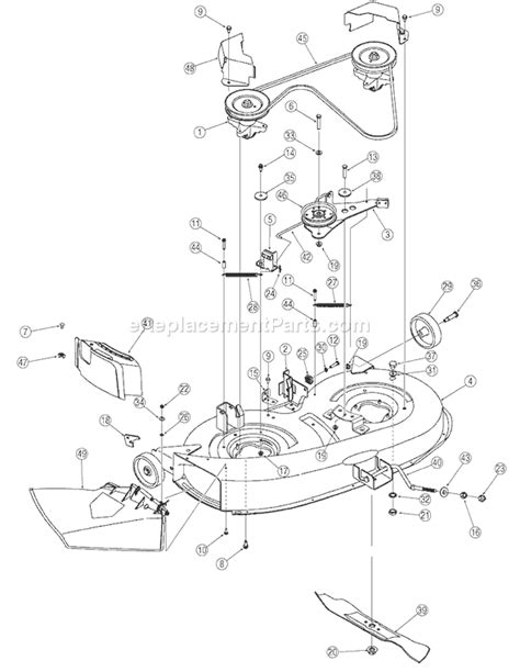 Huskee Mower Electrical Diagram by Huskee Lt4200 Wiring Diagram Diagrams Wiring Diagram Images