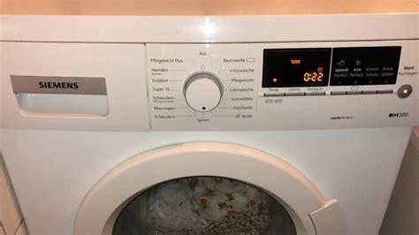 Bosch Waschmaschine Fehler Löschen by Siemens Waschmaschine Fehler Code F 21 L 246 Schen