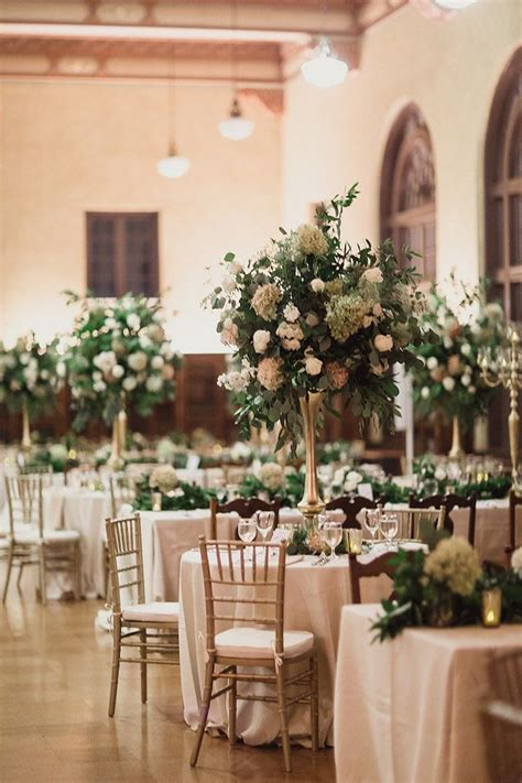 and gold reception decoration glam houston wedding in ivory and gold wedding reception