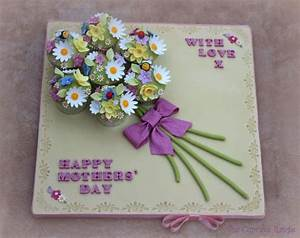 Mothers Day Cupcake Bouquet - CakeCentral com