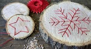 Ideen Mit Baumscheiben : baumscheiben mit fadengrafik handmade kultur ~ Lizthompson.info Haus und Dekorationen