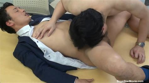 japanese guy gives head at the office gay tube videos