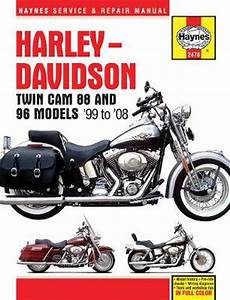 Harley Davidson Twin Cam 88  96  U0026 103 Service And Repair