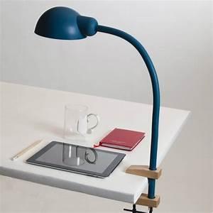 Lampe D Architecte : softclamp la lampe de bureau architecte en silicone souple ~ Teatrodelosmanantiales.com Idées de Décoration
