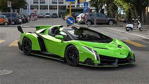 Lamborghini Veneno Roadster : 5 0 million lamborghini veneno roadster in switzerland start up brutal sounds youtube ~ Maxctalentgroup.com Avis de Voitures