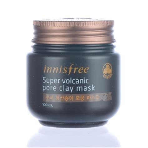 Harga Innisfree Volcanic Pore Clay Mask 100ml wash