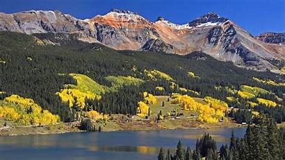 Mountain Fall Colorado Desktop Mountains Lake Wallpapers