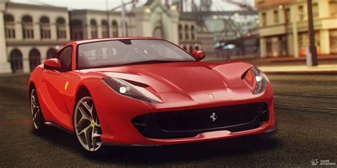2017 812 Ferrari Superfast For Gta San Andreas