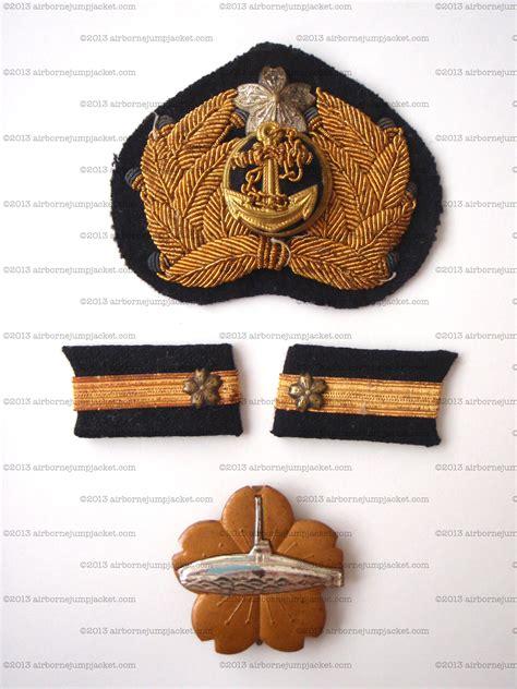 ww imperial japanese navy ijn original submarine badge