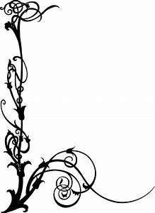 art deco border designs | Art Nouveau Swirls Free Vector ...