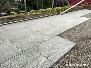 Steine Für Terrasse : terrassenplatten verlegen auf splitt mm39 hitoiro ~ Michelbontemps.com Haus und Dekorationen