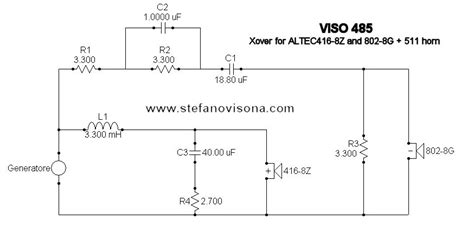 Second Order 2 Way Crossover Schematic on 2-way active crossover, 2-way electronic crossover board, inductor schematic, 2-way crossover audio, 2-way stereo crossover tube, 2-way crossover design, 2-way crossover graph, spectrum analyzer schematic, 2-way speaker crossover,