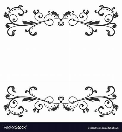 Divider Vector Floral Decoration Ornamental Clipart Clipground