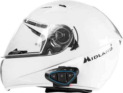 midland  btx pro twin intercom pour moto adapte pour tous types de casque conradfr