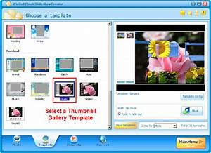 tutorials gtgt animation how to make a flash photo gallery With free flash slideshow templates