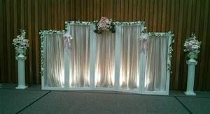 Creative wedding and party decor backdrop choices for Backdrop decoration for wedding