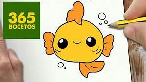 COMO DIBUJAR PEZ KAWAII PASO A PASO Dibujos kawaii faciles How to draw a fish YouTube