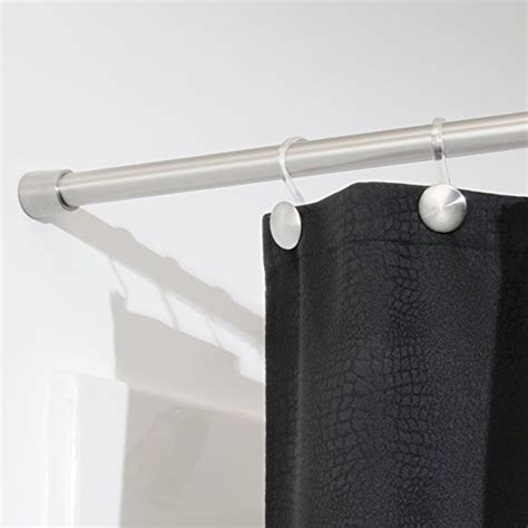 interdesign forma shower curtain tension rod brushed